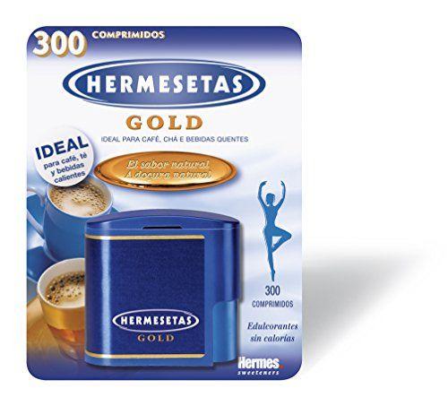 Sweetener Hermesetas Gold 300 + 100 Tablets