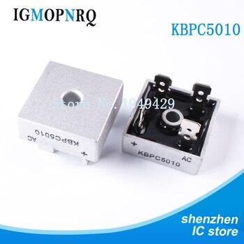 2 piezas KBPC5010 1000V 50A puente rectificador 1000V - 50A DIP nuevo original envío gratuito entrega rápida