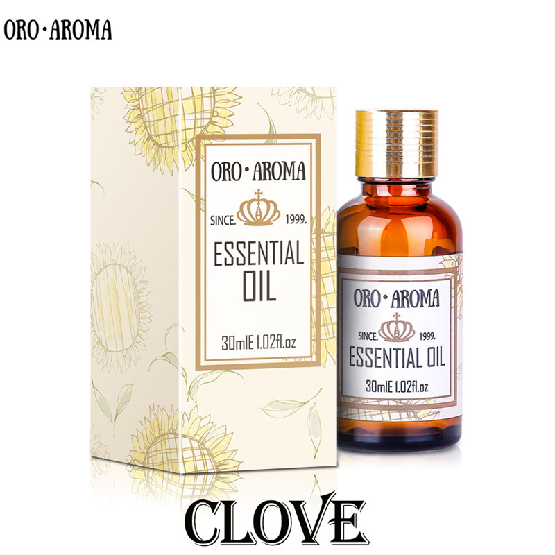 Famous Brand Oroaroma Natural Aromatherapy Clove Essential Oil Leisurely Improve Rough Skin Relieve Pain Clove Oil