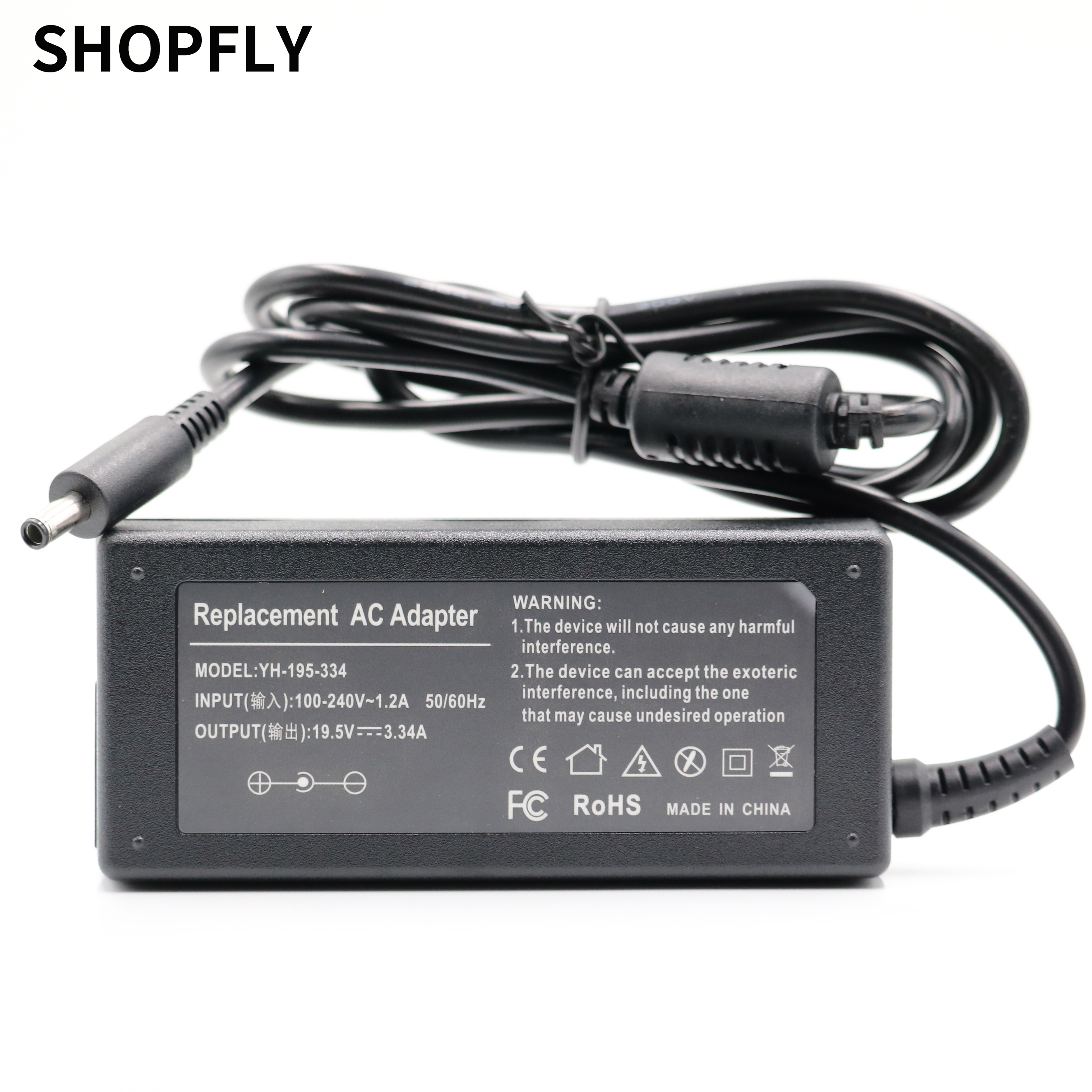 19.5V 3.33A 3.34A Laptop AC power adapter charger <font><b>HP</b></font> EliteBook <font><b>810</b></font> <font><b>G1</b></font> <font><b>810</b></font> G2 820 <font><b>G1</b></font> 820 G2 840 <font><b>G1</b></font> 840 G2 850 <font><b>G1</b></font> 850 G2 supply image