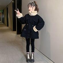 Новая зимняя одежда с хлопковой подкладкой для девочек плюс