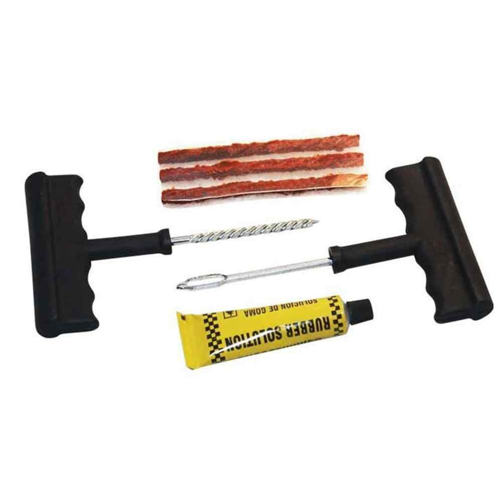 New Automotive Tire Repair Kits Practical Vacuum Tires Motorcycle Fast Tire Repair Strips 6pcs Repair Tools