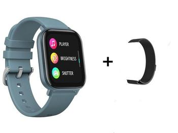 RUNDOING P8 1.4 inch Smart Watch Men Full Touch Fitness Tracker Blood Pressure Smart Clock Women GTS Smartwatch 14