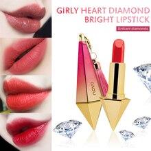 Diamond Lipstick Lasting Moisturizing Non-fading Waterproof Non-stick Cup Makeup