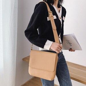 Новый стиль большой объем простая сумка на одно плечо для женщин сплошной цвет женская сумка на плечо большая сумка