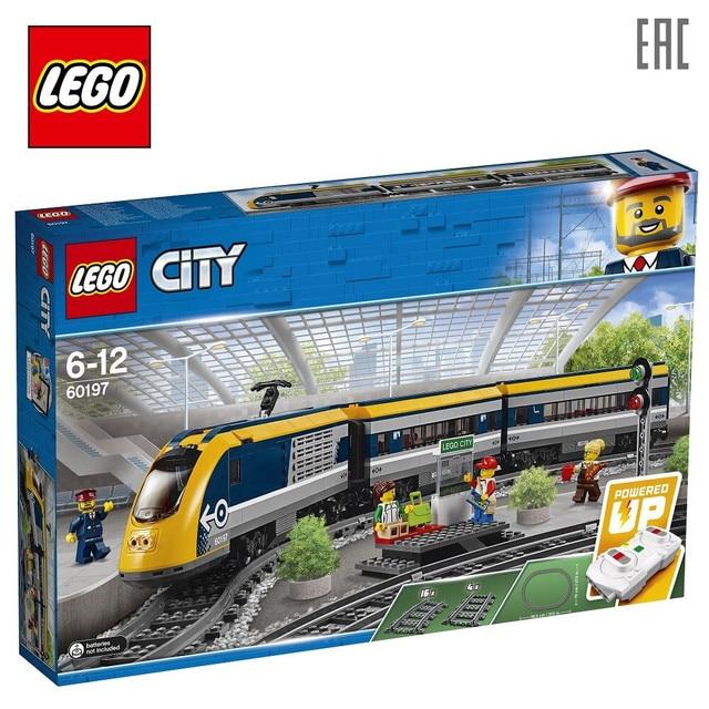 Конструктор LEGO City Trains 60197 «Пассажирский поезд»