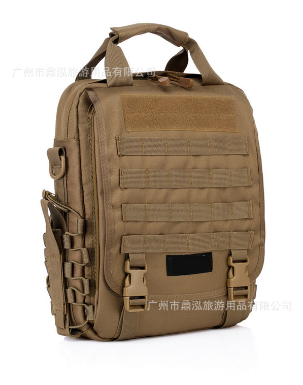 Ding Hong Outdoor Tactical Backpack Men And Women Multi-functional Shoulder Bag Army Fans Shoulder Bag Waterproof Casual Laptop