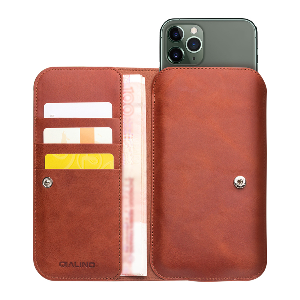Fashion Genuine Leather Wallet Case For Apple Iphone 11 Fashion Handmade Bag With Card Slots For Iphone 11 Pro Max