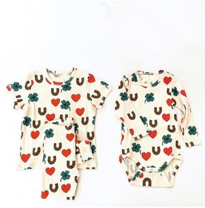 Image 4 - 2020 Ins 뜨거운 아기 소녀 옷 아이 드레스 여자 Vestidos 공주 드레스 Vestidos 여자 레깅스 pyjama 세트 가족 Matchin