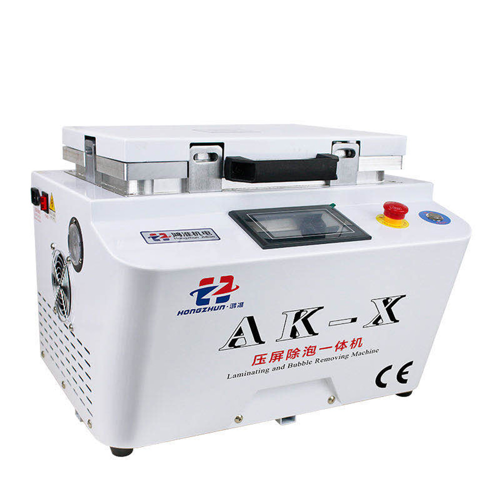 12-inch Vacuum Laminating Machine With Built-In Pump And Air Compressor 21