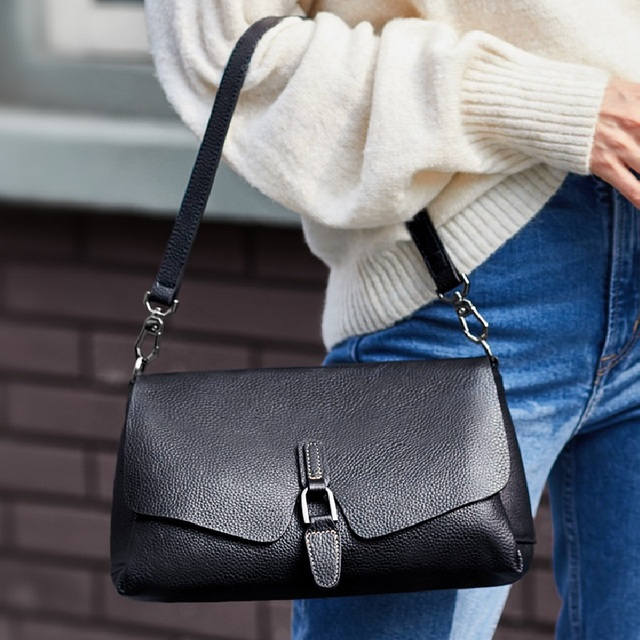 Luxury Brand Designer Women Cow Leather Hand bags 100% Genuine leather Shoulder Bags Small High Quality Messenger Bag Hot bolsa