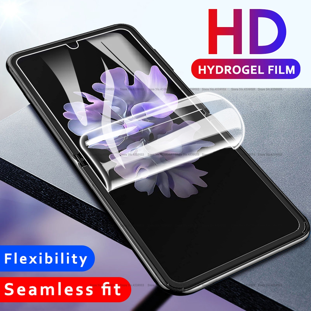 Front Soft Hydrogel Film For Samsung Galaxy Z Flip GSM / HSPA / LTE Screen Protector For Samsung Galaxy Z Flip Protective Film