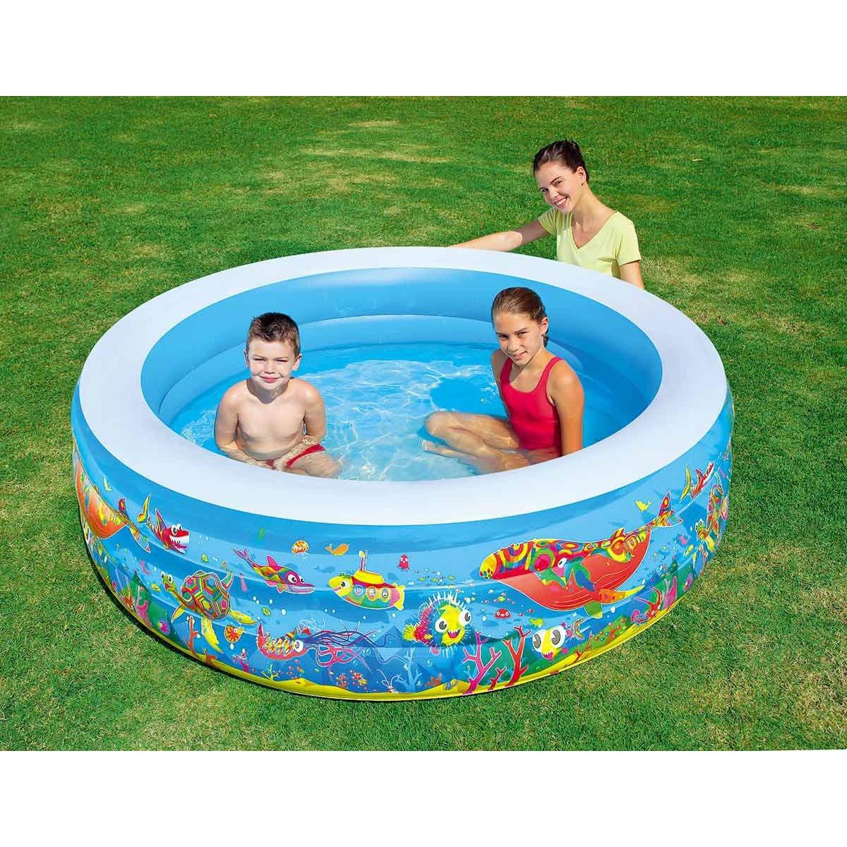 Bestway Inflatable Pool Child Play Aquarium (1.147L)-51123