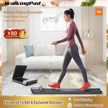 WalkingPad cinta caminar A1 plegable ahorra espacio eléctrico inteligente Jog caminando de Cardio Fitness equipo Casa Xiaomi común crear
