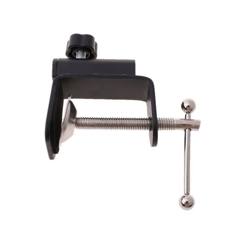 Aluminum Alloy Iron Cantilever Bracket Clamp for Mic Stand Table Lamp Desk Clip - ANKUX Tech Co., Ltd
