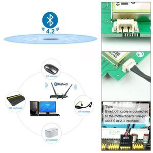 Image 3 - Ubit Bluetooth WiFi כרטיס AC 1200Mbps 7265 אלחוטי WiFi PCIe מתאם רשת כרטיס 5GHz/2.4GHz הכפול להקת PCI Express כרטיס רשת