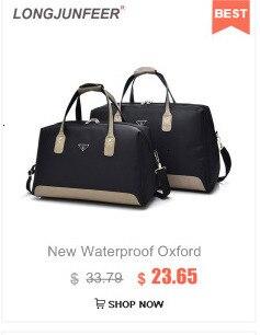 Bagagem de viagem sacos de lona à