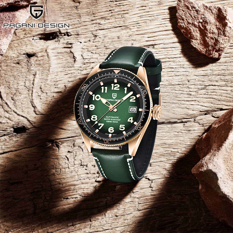 2020 PAGANI Design new watch mens automatic top luxury brand business wristwatch man mechanical waterproof watches for men NH35A