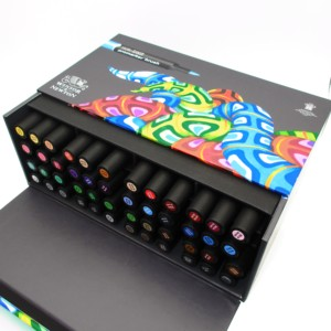 Image 3 - Winsor & Newton Brushmarker 48 Colors Essential Collection  Markers Set