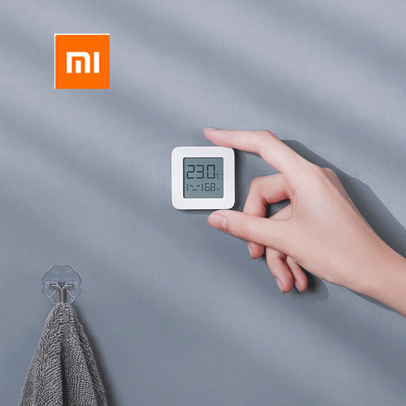 2021 new product XIAOMI Mijia Bluetooth Thermometer 2 Wireless Smart Electronic Digital Hygrometer Thermometer for use with Miji