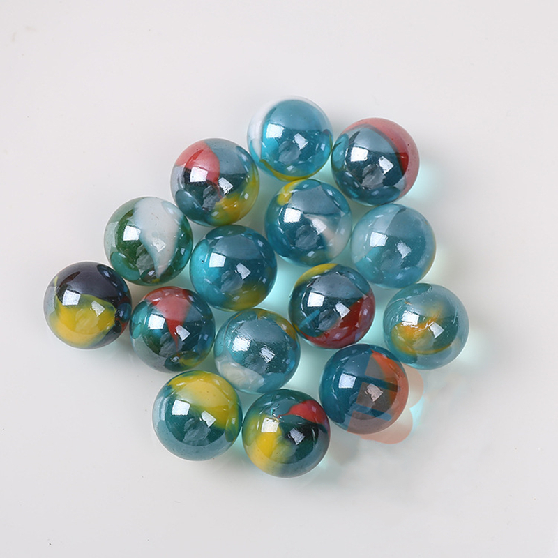 16mm Pinball Machine Clear Glass Balls Marbles For Home Decor Fish Tank Vase Aquarium Gifts Toys For Kids Children 50pcs