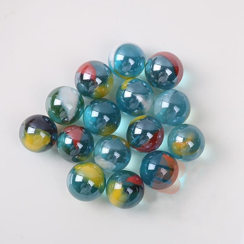 16mm Pinball Machine Clear Glass Balls Marbles For Home Decor Fish Tank Vase Aquarium Gifts Toys For Kids Children 50pcs