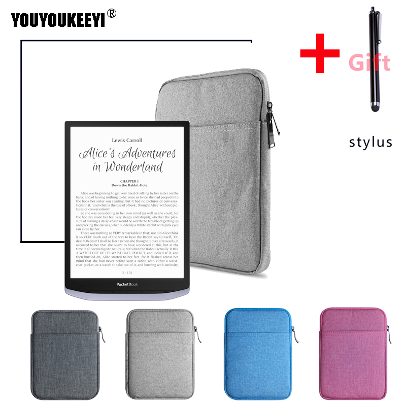 Shockproof Sleeve Case Bag For PocketBook InkPad X 10inch E-reader Light Zipper Bag Case For E-book PocketBook InkPad X +GIFT