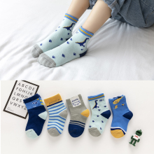 Animal Baby Socks Boys Girls Cartoon Winter Cotton 5pairs/Lot Autumn Cute Clothes-Accessories