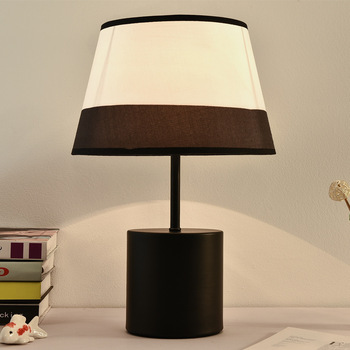 Modern Fabric Table Lamps for Bedroom Bedside Desk Lamp Hotel Office Stand Light Fixtures Living Room Decoration Home Art Decor