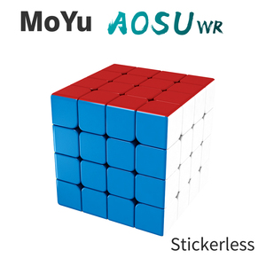 Image 3 - MoYu aosu WR 4x4x4 59mm Cube and WRM 4x4 Magnetic Magic Cube Puzzle Professional WR M Cubing Speed  Educational Kid Toys
