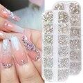 SS3-SS12 Стразы для ногтей плоская спина украшения драгоценные камни для дизайна ногтей аксессуары для маникюра 3D Блестки для ногтей декора ...