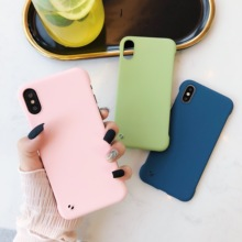 Frameless Case For iPhone 11 Pro Max Case Matte Hard Cover For iPhone XR XS X Case For iPhone 11 Xs Max 7 8 6 6s Plus Cover new iphone case for iphone 11 for iphone11 pro max 5 8 inches 6 1 inches 6 8 inches 6 6s 7 8 plus ix xr max x fashion back cover