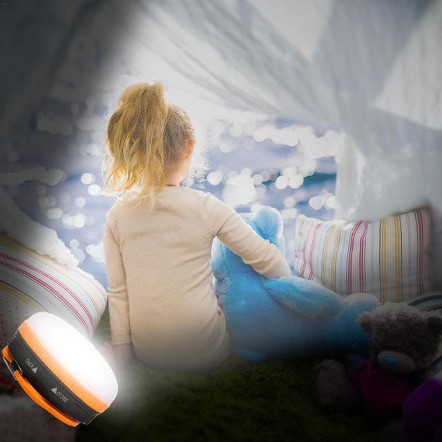 Super Bright Waterproof Portable Camping Lantern Night Light 3w 5 Modes LED Camping Light Outdoor Emergency Lamp Warm White
