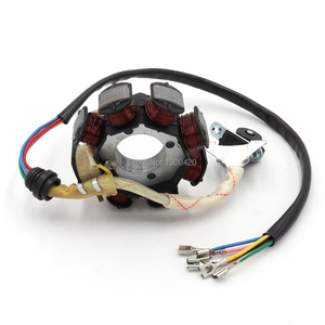Image 4 - 8 Pole Coil AC Ignition Magneto Stator for CG125 8 150cc 250cc Motocross ATV