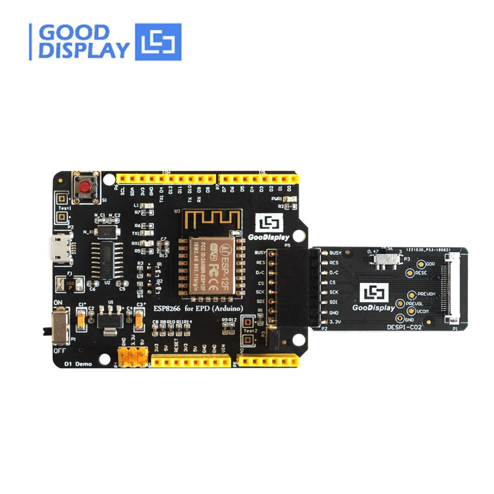 E-paper Development Kit Supports Arduino Platform ESP8266 For EPD Display