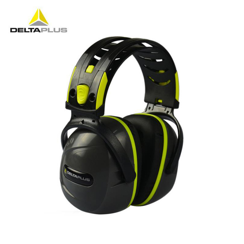 Deltaplus 103009 F1 Intel Lagos Earmuff Noise Reduction Sound Insulation Earmuffs Labor Safety Sound Insulation Earphones