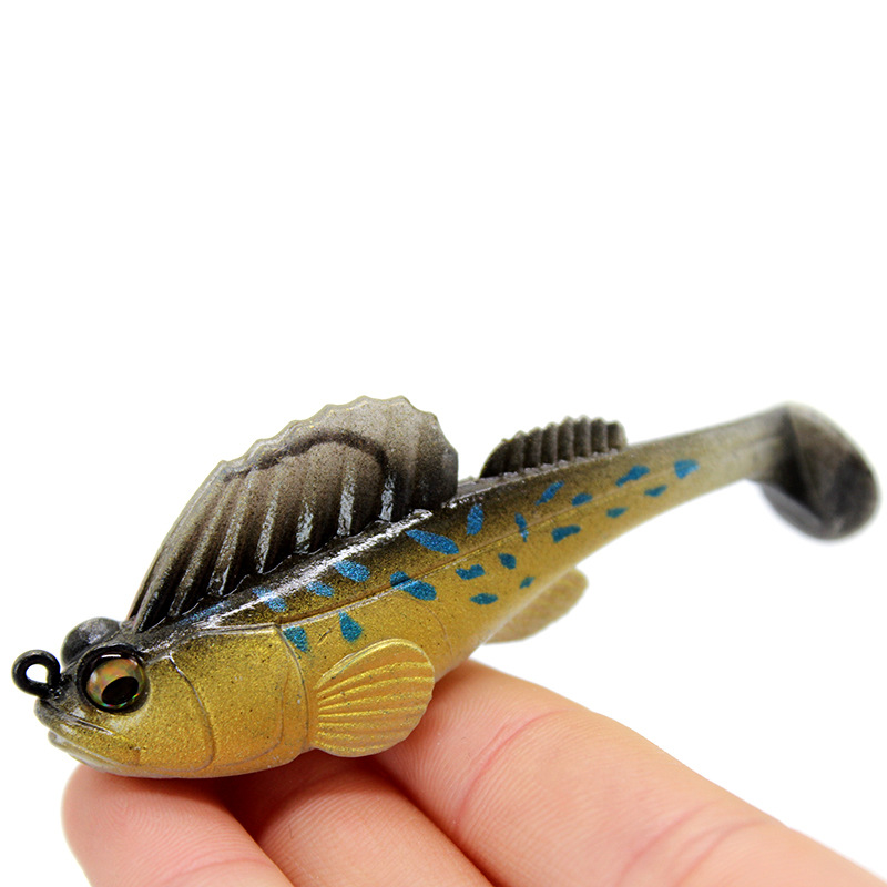 7G 10G 14G 20G Fishing Lure Soft Bait Lead Jig Dark Sleeper Swimbaits Soft Lure Fishing Pike Lure Bass Shad For Fishing Perch