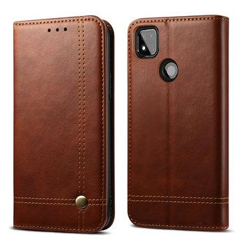Redmi 9C Flip Case Red Mi 9 C C9 Phone Cover 360 Protection Leather Shell for Xiaomi Redmi 9C Case Luxury Wallet Funda Redmi 9 C