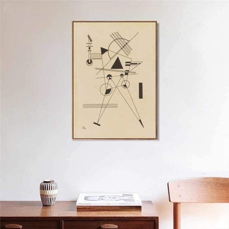 Lithographie NO. 1 (R. 185) By Wassily Kandinsky Painting Canvas Arts Prints And Posters Wall Picture For Living Room Home Decor