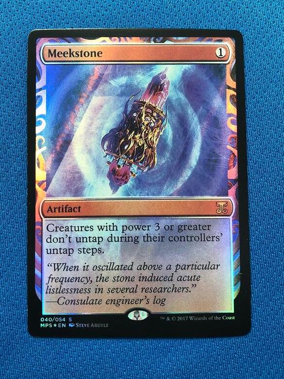 Meekstone Kaladesh Inventions Foil Magician ProxyKing 8.0 VIP The Proxy Cards To Gathering Every Single Mg Card.