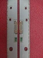 2 sztuk listwa oświetleniowa led dla Samsung UE55KU6500 UE55LS003 UN55MU7000 UE55KU7500 UE55KU6400 UE55MU6400 BN96 39595A 39596A 39601A w Części zamienne i akcesoria od Elektronika użytkowa na
