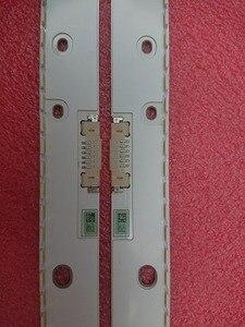 Image 1 - Nowy 2 sztuk podświetlenie LED strip dla Samsung UE55KU6670 UN55MU7000 UE55MU6400 UE55KU6500 BN96 39595A 39596A BN96 39601A 39602A