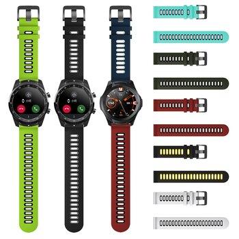 Silicone Band For TicWatch Pro / S2 / E2 Wrist Strap Watchband For TicWatch E / C2 Smart Watch Bracelet Correa ремешок