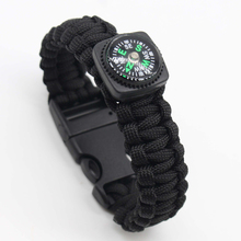 Bracelet Survival-Tools Military Wrist-Strap Multifunction Tactical Outdoor EDC Field