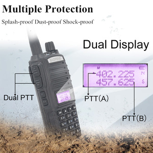 Image 5 - الأصلي BaoFeng UV 82 لاسلكي تخاطب 5 واط 128Ch المزدوج الفرقة VHF UHF 136 174 ميجا هرتز 400 520 ميجا هرتز المحمولة Baofeng UV82 هام راديو Baofeng 82