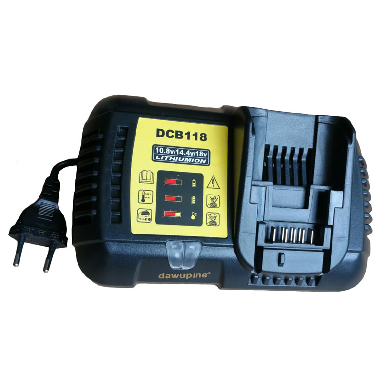 Dawupine DCB118 Li-Ion Battery Charger 4A For Dewalt 10.8V 12V 14.4V 18V 20V 60V Dcb101 Dcb115 Dcb107 Dcb105 DCB200 DCB140