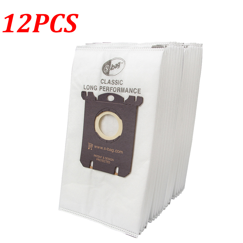 12PCS Dust Bags For Philips Electrolux FC8202 FC8204 FC9087 FC9088 HR8354 HR8360 HR8426 HR8514 Vacuum Cleaner Parts Accessories