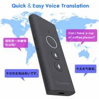 2019 Online Translator Portable Traductor Muama Enence 40 Languages Voice Travel Two-way Instant Smart Translator Hotspot Device