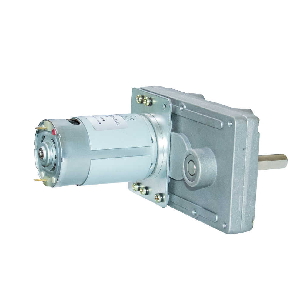 102F550 DC Electric Gear Motor 12V 24V High Torque Rectangle Geared Motor for Vending Machine with High Quality Gearbox
