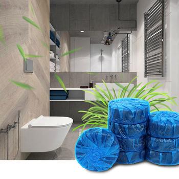 Niebieska bańka toaletowa Bao automatyczne Środek czyszczący do WC-magiczne równo butelkowanej pomocnik niesamowity dom usunąć nieprzyjemny zapach wc dobry pomocnik Dropship tanie i dobre opinie 1 pc Tablet 4 5*4 5*1 5